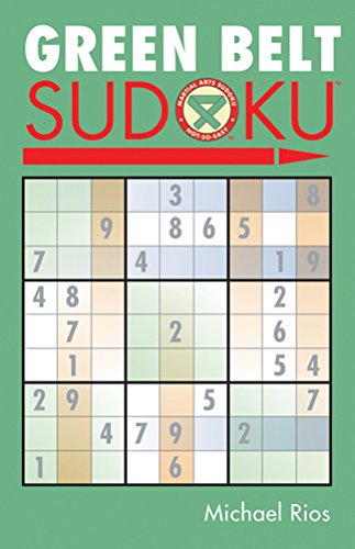 Green Belt Sudoku® (Martial Arts Puzzles Series) ()