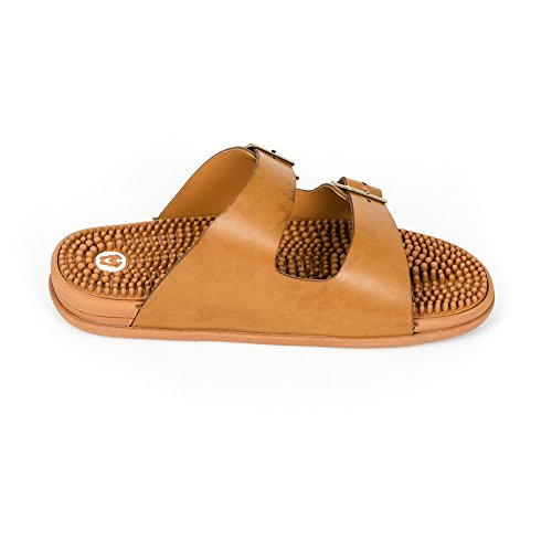 Seva Reflexology amp; Women Revs Comfort Cushion Absorbing Sandals Shock Men Sandals Arch Tan for amp; Support dEYHYqw
