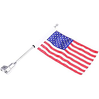 Amazon Com Pro Pad Square Sissy Bar Motorcycle Flag Mount