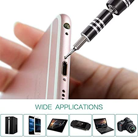 for 8 Professional Repair Tool Kit Magnetic Driver Kit 60 in 1 with 56 Bits Precision Screwdriver Kit Flexible Shaft Green Upgrade Screwdriver Set 8 Plus//Smartphone//Game Console//Tablet