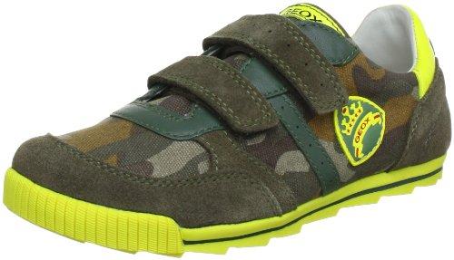 Geox Textil J FORT A J3244A01022C3349 - Zapatillas de deporte para niño Verde