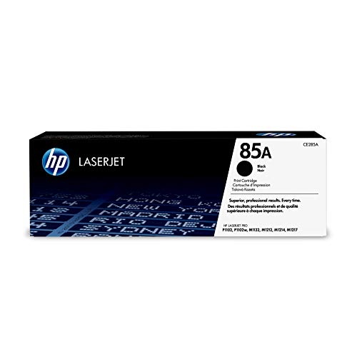 HP 85A (CE285A) Black Toner Cartridge   for HP LaserJet Pro M1212nf M1217nfw P1102w ()