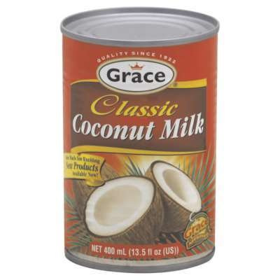 Grace Caribbean Trasition Coconut Milk 13.5-Ounce (Pack of 24)