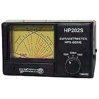 WORKMAN HP202S CROSS NEEDLE SWR/WATT METER, 1000 WATT POWER METER NEW DESIGN