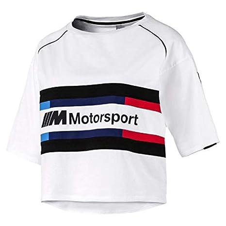 Puma BMW MMS WMN Street Damen T-Shirt Schwarz
