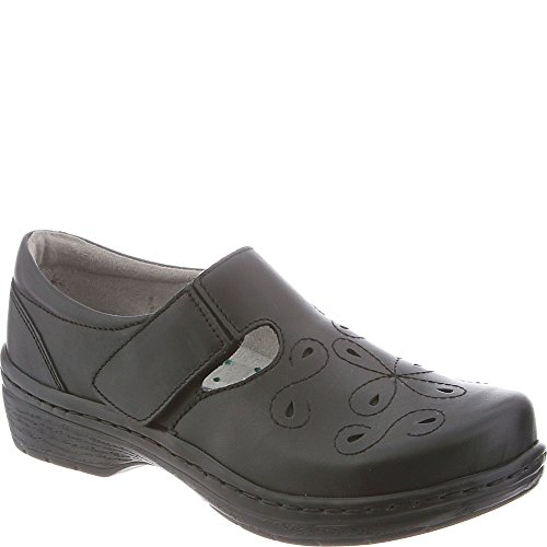 Klogs USA Women's Brisbane Mule, Black Smooth, 9 M US by Klogs