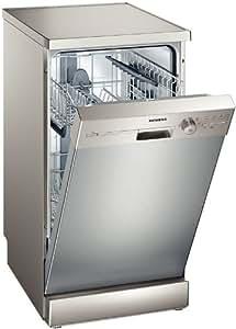 Siemens SR25E800EU Independiente 9espacios A+ lavavajilla - Lavavajillas (Independiente, Metálico, A, A, A+, 220 - 240 V)