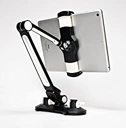Artix 360 Degree Adjustable Stand/Holder with Suction Cups for Tablets and Phones - Up To 11\'\'