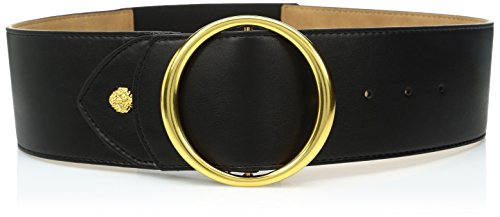 Ak Anne Klein Women's Anne Klein 70mm Stretch Back Belt, black, S/M