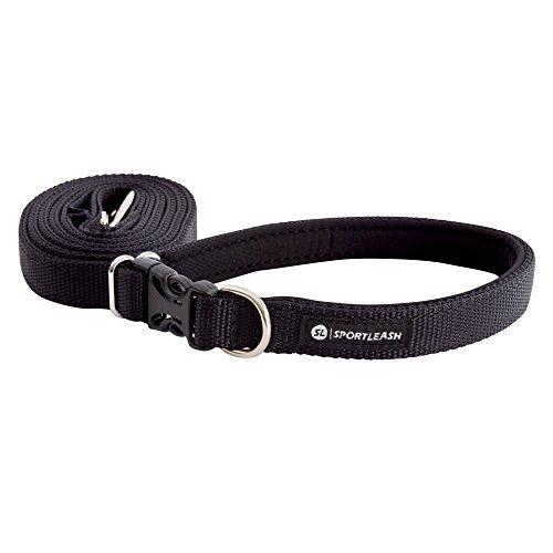 SportLeash 3-in-1 Hands-Free Dog Leash | Running Leash | Premium Dog Leash | Neoprene Lined Handle | Adjustable Dog Leash | Large Dog Leash | Medium Dog Leash by SportLeash