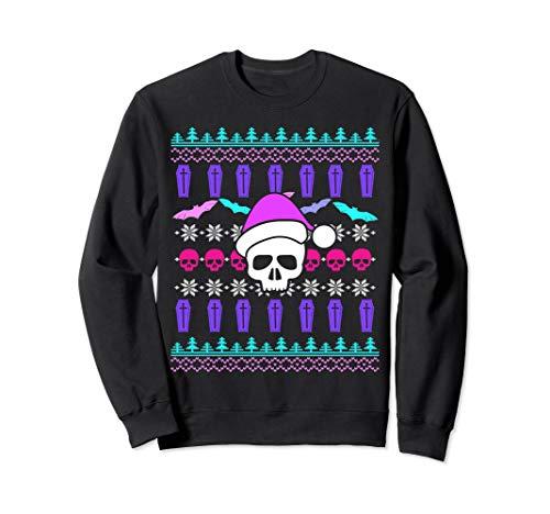 Pastel Goth Christmas Ugly Christmas Sweatshirt