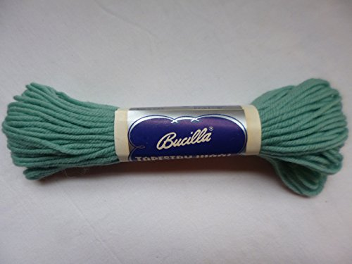 Bucilla Light Baby Blue 100% Pure Virgin Wool Tapestry Yarn