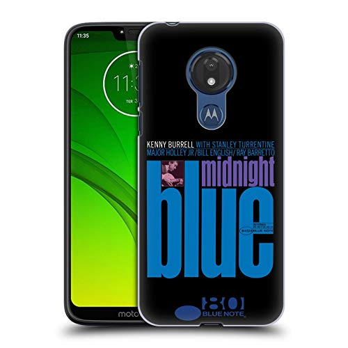 Official Blue Note Records Kenny Burell Midnight Blue Albums 2 Hard Back Case Compatible for Motorola Moto G7 Power]()