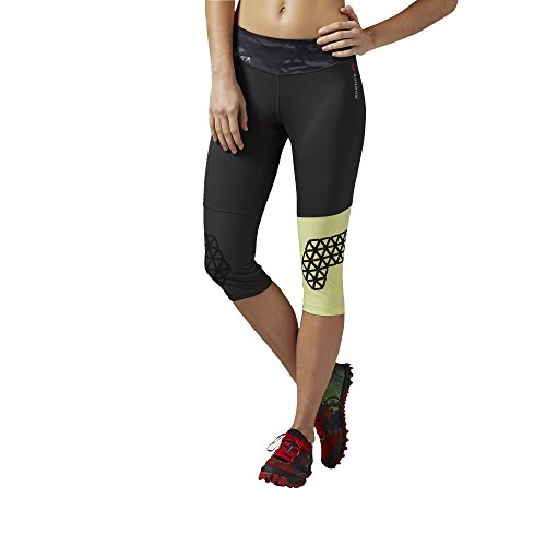 Reebok Spartan Pro Trackpants–Pantalones capri Negro - carbón
