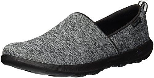Skechers Performance Women's Go Walk Lite-Starlet Loafer,Black,8 M - Comfort Shoes Womens Loafer