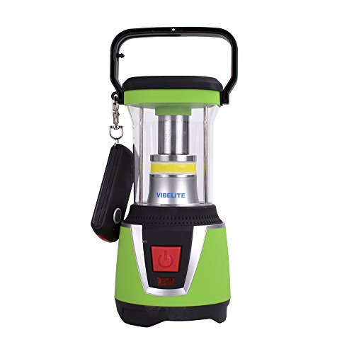 Vibelite 500Lm Outdoor LED Lantern combined with Flashlight, 3 Modes, Portable, Battery powered,Home Garden Lanterns for Hiking Camping Emergencies by VIBELITE