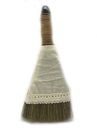 Antique Vintage Hand Made Reed Tree Branch Mini Broom