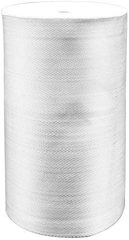 1.5 OZ White Fiberglass Cloth Glass Fiber Mesh Plain Weave Reinforcement