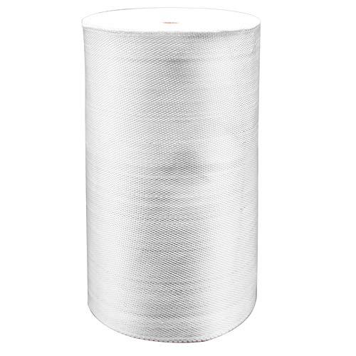 YIKAI Fiberglass Cloth Tape, Glass Fiber Mesh Joint Tape Plain Weave Reinforcement E-Glass Size 6