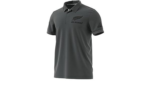 adidas New Zealand All Blacks Anthem Polo 16/17: Amazon.es ...