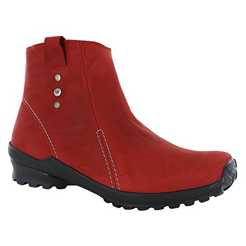 Wolky Womens Zion Wp Boots Dark Red Nepal