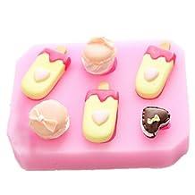 FMY Popsicle Shaped Silicone Fondant Cake Cake Chocolate Silicone Molds,Decoration Tools Bakeware