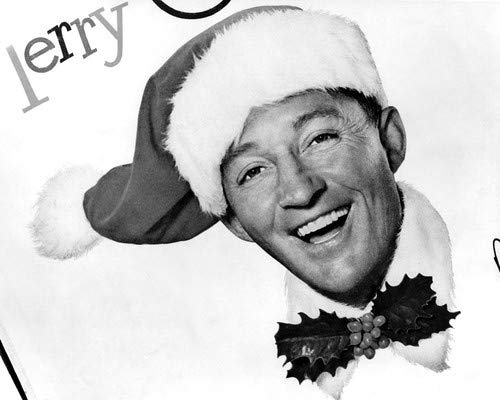 Bing Crosby in White Christmas Poster