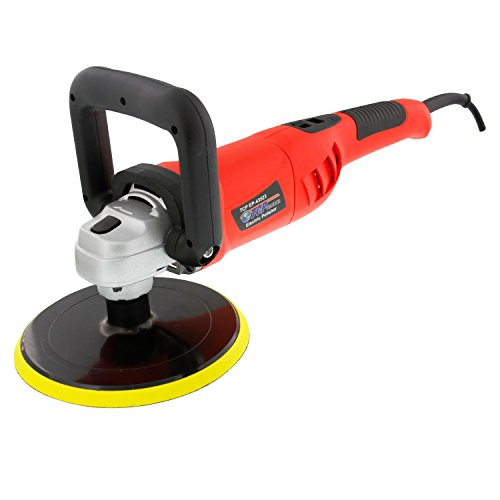 TCP Global 7'' Variable Speed Polisher with Digital RPM Display; Professional High Performance Polisher with a Powerful 10 Amp, 1200 Watt Motor by TCP Global (Image #2)