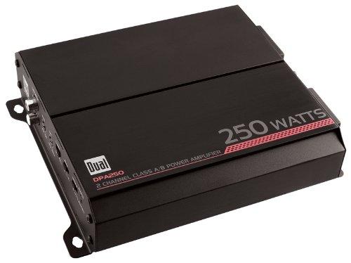 Dual DPA250 250 Watts 2/1 Channel Amplifier ()