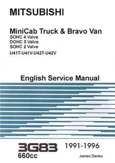mitsubishi minicab bravo 3g83 engine service manual james danko rh amazon com mitsubishi engine 4g63 service manual mitsubishi 4m50 engine service manual