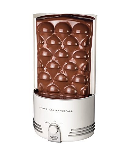 Lowest Prices! Nostalgia CWF48WT 3-Pound Capacity Chocolate Fondue Waterfall