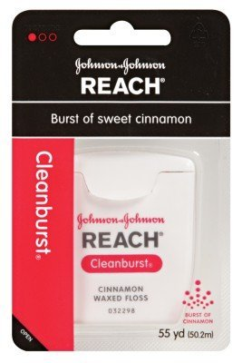 Reach Waxed Floss 55 Yards Clean Burst Cinnamon