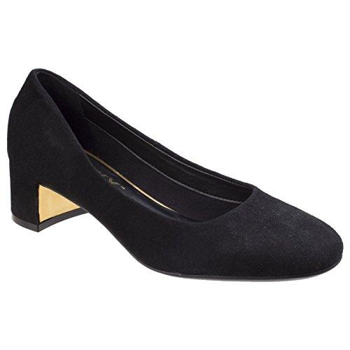 The de Flexx Zapatos para ante mujer Chianti tacón Vino de grrIAq