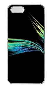 Hipster Cheap price iPhone 4S case Lines Feather PC Transparent for Apple iPhone 5/5S by ruishername