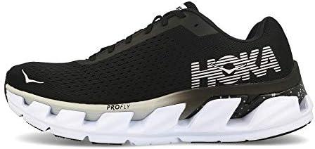 Hoka ELEVON, Chaussures de Running pour Homme, Noir (Black/White - BWHT), 45 1/3 EU