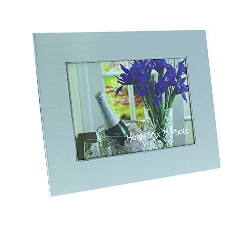 Personalized Photo Frame with Engraving holds 5x7 Picture (Landscape)