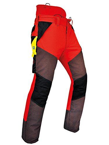 Pfanner Schnittschutzhose Kev-Extrem Klasse 1, Farbe:rot;Größe:L