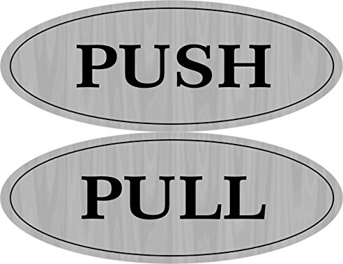 - Supply360 Premium Oval Push/Pull Door, 5