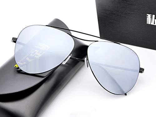 Hombre De Retro para B Diseño Antirreflejante Completo Mujer para UV400 Aili De Moda B Y Gafas Lente con Sol zT1qZO