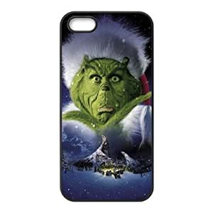 iPhone 5,5S Phone Case Black The Grinch Christmas WE9TY634040