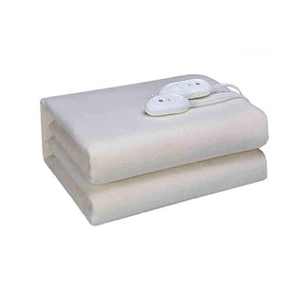 Sunny Manta Eléctrica De Doble Control Premium Sherpa Doble - Control con 8 Configuraciones De Calor