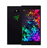 Razer Phone 2 (New): Unlocked Gaming Smartphone - 120Hz QHD Display - Snapdragon 845 - Wireless Charging - Chroma - 8GB RAM - 64GB - Satin Black