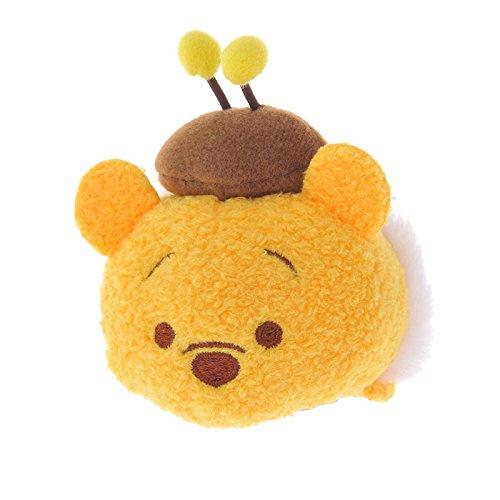 Disney Store stuffed Hachipu 3 mini (S) Honey Bear Pooh & Friends TSUM TSUM Japan (Pooh Bear Honey)