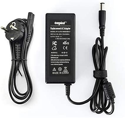 Sunydeal - Cargador Adaptador para Ordenador Portátil HP 18.5V 3.5A, 7.4*5.0mm,Compatible con HP Pavilion G4 G6 G7 M6 DM4 DV4 DV5 DV6 DV7 G60 G61 G72, ...