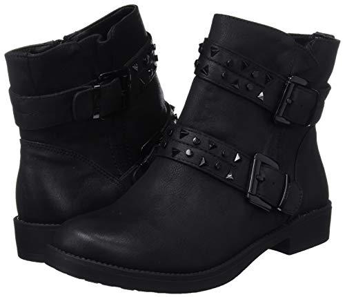 Schwarz Damen Kurzschaft C27784 Negro MTNG Stiefel Karma 57620 4IqnwS8