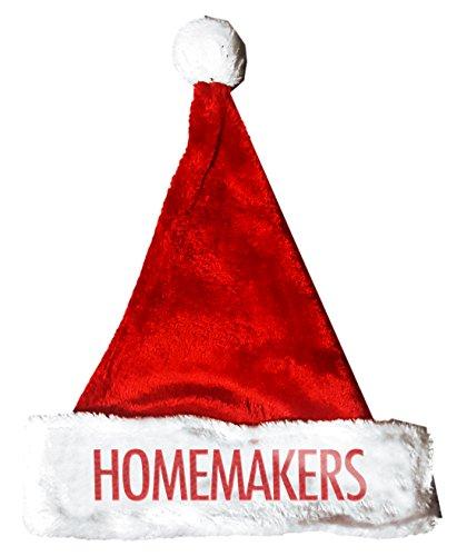 Homemaker Costume (HOMEMAKERS Santa Christmas Holiday Hat Costume for Adults and Kids u6)