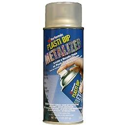 Performix 11210-6PK Plasti Dip Enhancer Silver Metalizer Aerosol - 11 oz., (Pack of 6)