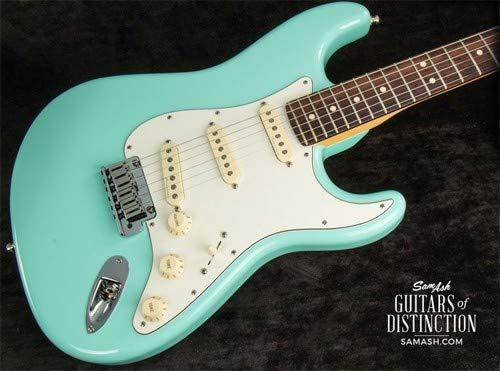 - Fender Custom Shop Jeff Beck Signature Stratocaster Electric Guitar Surf Green (SN:XN10830)