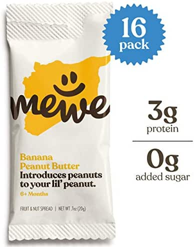 Baby & Toddler Snacks: MeWe Nut Butter