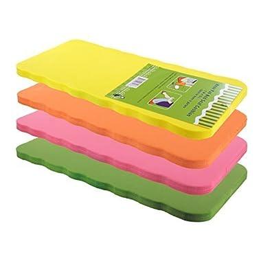 Set of 4 - Foam Kneeling Pads Garden Knee Mat / Gardening Seat Cushion